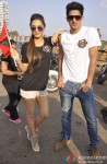Kiara Advani and Vijender Singh At The Bike Rally