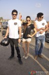Kiara Advani, Mohit Marwah and Vijender Singh at the event