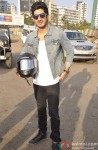 Mohit Marwah At The Bike Rally