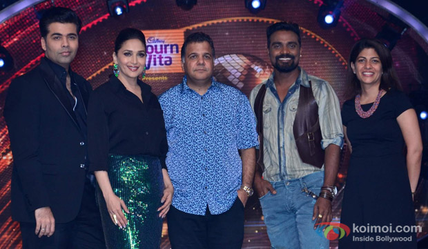 Madhuri Dixit Nene, Karan Johar, Remo D'Souza At The Event
