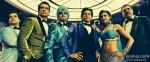 Vivaan Shah, Sonu Sood, Abhishek Bachchan, Shah Rukh Khan, Deepika Padukone and Boman Irani in Happy New Year Movie Stills