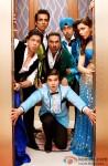 Shah Rukh Khan, Sonu Sood, Boman Irani, Vivaan Shah, Abhishek Bachchan and Deepika Padukone in Happy New Year Movie Stills