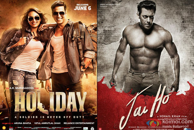 Holiday – A Soldier Is Never Off Duty and Jai Ho Movie Poster