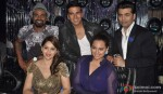 Remo D'Souza, Karan Johar, Sonakshi Sinha, Madhuri Dixit and Akshay Kumar On The Sets Of Jhalak Dikhla Ja