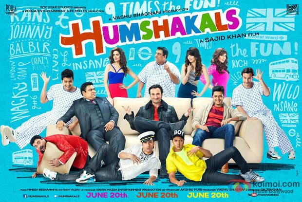 'Humshakals' Movie Poster