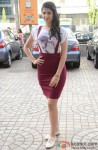 Deeksha Seth At The Promotion Of 'Lekar Hum Deewana Dil'