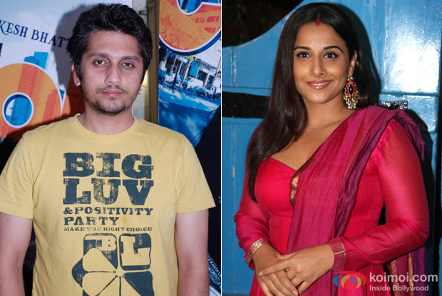 Mohit Suri and Vidya Balan