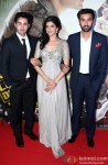 Armaan Jain, Deeksha Seth, Ranbir Kapoor At The Premiere Of Lekar Hum Deewana Dil