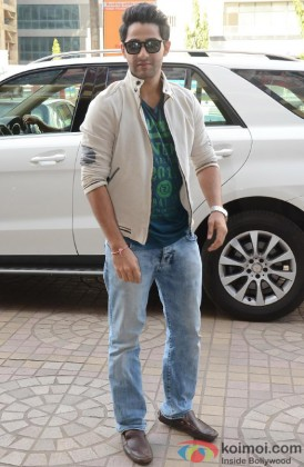 Armaan Jain poses for the shutterbugs