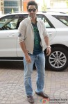 Armaan Jain poses for the shutterbugs