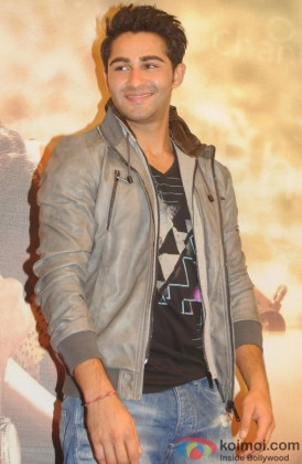 Armaan Jain while promoting his debut 'Lekar Hum Deewana Dil'