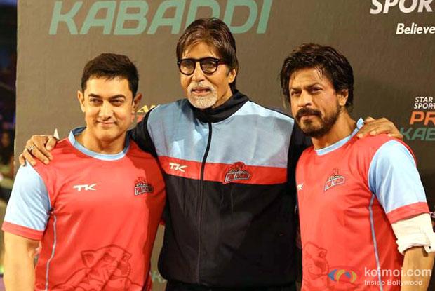 Aamir Khan, Amitabh Bachchan and Shah Rukh Khan Support Abhishek's Jaipur Pink Panthers