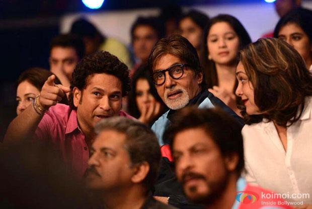 Sachin Tendulkar and Amitabh Bachchan Support Abhishek's Jaipur Pink Panthers