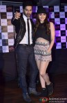 Varun, Alia pose together for the shutterbugs at Escobar