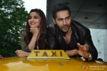 Alia, Varun pose for the shutterbugs while promoting 'Humpty Sharma Ki Dulhania'
