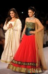 Ameesha Patel Poses As The Showstopper At IIJW For Surya Golds