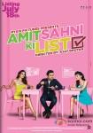 Vir Das, Vega Tamotia, Anindita Nayar and Kavi Shastri starrer Amit Sahni Ki List Movie Poster 1