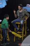 Ayushamann Khurrana, Sadhil Kapoor On The Sets Of 'Captain Tiao'