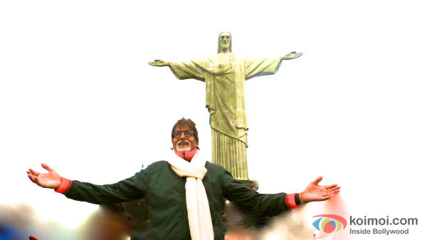 Amitabh Bachchan in Brazil