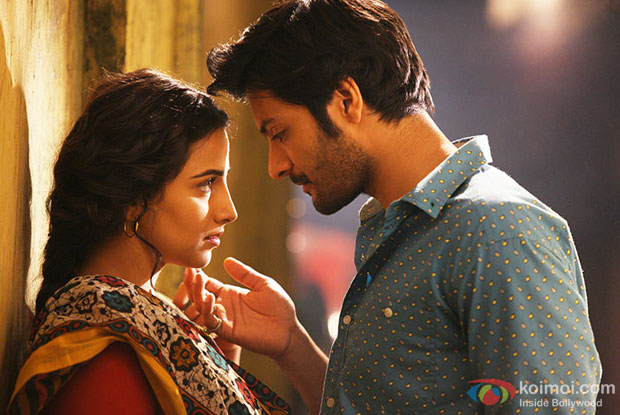 Vidya Balan and Ali Fazal in a still from movie 'Bobby Jasoos'