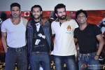 Suniel Shetty, Akhil Kapoor, Jay Bhanushali At The Trailer Launch Of Desi Kattey