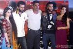 Sasha Agha, Jay Bhanushali, Suniel Shetty, Akhil Kapoor, Tia Bajpai At Desi Kattey's Trailer Launch
