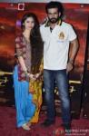 Sasha Agha, Jay Bhanushali At The Trailer Launch Of Desi Kattey