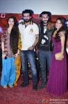Sasha Agha, Jay Bhanushali, Akhil Kapoor, Tia Bajpai At Desi Kattey's Trailer Launch