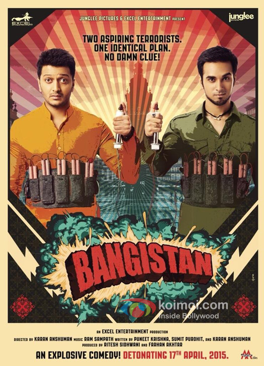The New Poster Of 'Bangistan'