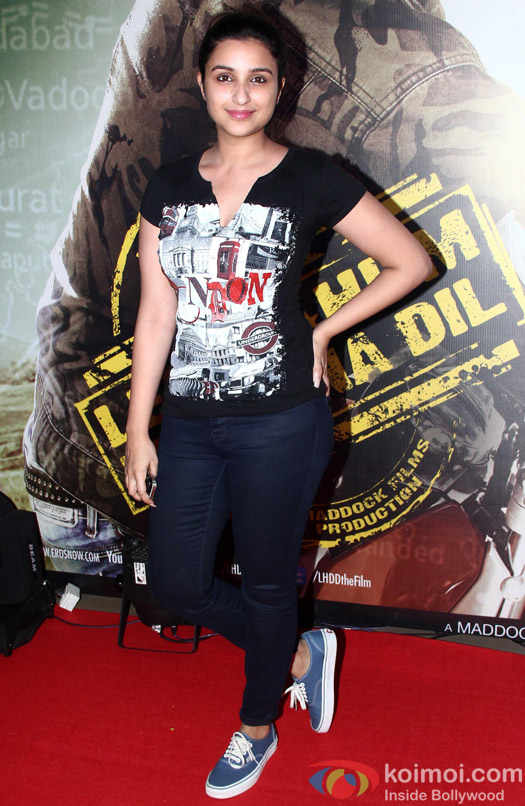 Ileana D'cruz Attended The Premiere Of 'Lekar Hum Deewana Dil'