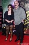Rakesh Roshan, Pinki Roshan At The Premiere Of Lekar Hum Deewana Dil