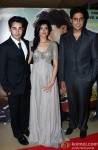 Armaan Jain, Deeksha Seth, Abshishek Bachchan At The Premiere Of Lekar Hum Deewana Dil