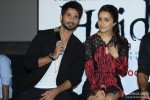 Shahid Kapoor, Shraddha Kapoor Interact With Media At Haider's Trailer Launch