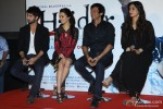 Shahid Kapoor, Shraddha Kapoor, Tabu, Kay Kay Menon At The Trailer Launch Of Haider