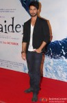 Shahid Kapoor Snapped At The Trailer Launch Of 'Haider'