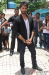 Shahid Kapoor Arrives At The Trailer Launch Of Haider