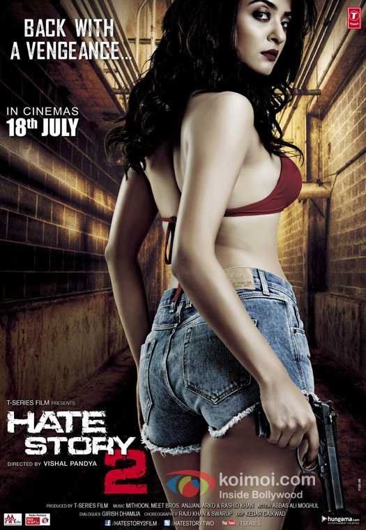 Hate Story 2 Movie Poster