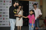 Jay Bhanushali Interacts With A Kid At Hate Story 2 Promotions