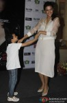 Surveen Chawla Dances With A Kid At Hate Story 2 Promotions