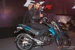 John Abraham Poses With Yamaha's New Bike