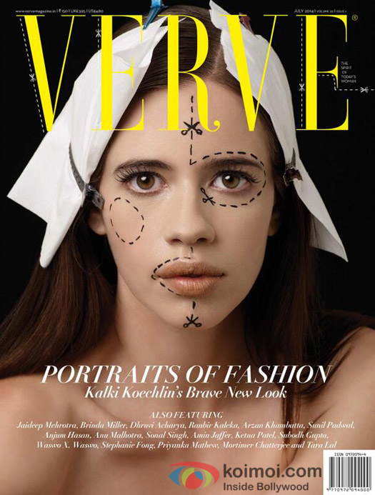 Kalki Koechlin On The Cover Of Verve Magazine