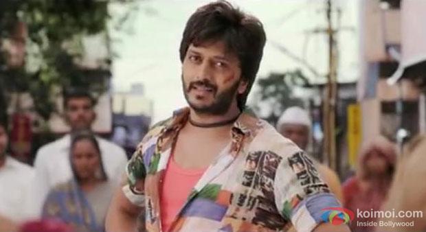 Riteish Deshmukh in a still from movie 'Lai Bhaari'