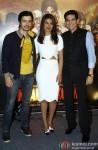 Darshan Kumar, Priyanka Chopra, Omung Kumar At Mary Kom Trailer Launch