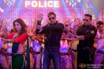 Kareena Kapoor, Ajay Devgn and Yo Yo Honey Singh in Singham Returns Movie Stills