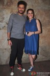 Riteish Deshmukh, Genelia D'souza Attend The Special Screening Of Bobby Jasoos