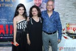 Sakshi Bhatt, Nilima Bhatt and Mukesh Bhatt during the success party of movie 'Ek Villain'