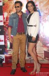 Emraan Hashmi and Humaima Malick during the trailer launch of movie 'Raja Natwarlal'