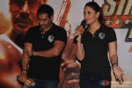 Ajay Degn, Kareena Kapoor Snapped In Media Interaction At The Trailer Launch Of Singham Returns