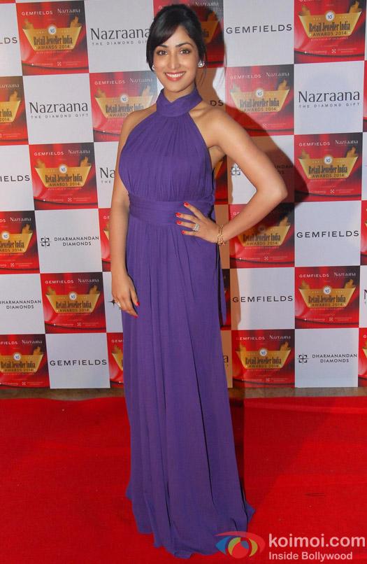 Yami Gautam at 'Retail Jeweller India Awards'