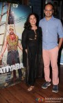 Deepti Kakkar and Fahad Mustafa during the music launch of movie 'Katiyabaaz'